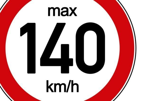 Initiative will Tempo 140 auf Schweizer Autobahnen