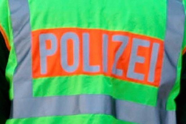 Brand im Kieswerk Niederschopfheim