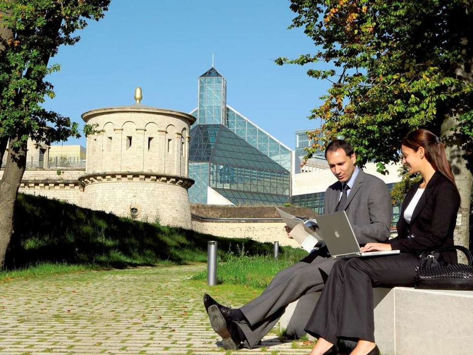 Alt und neu miteinander vereint: Luxem... Stadt zwischen Tradition und Moderne.  | Foto: O.N.T. Luxemburg