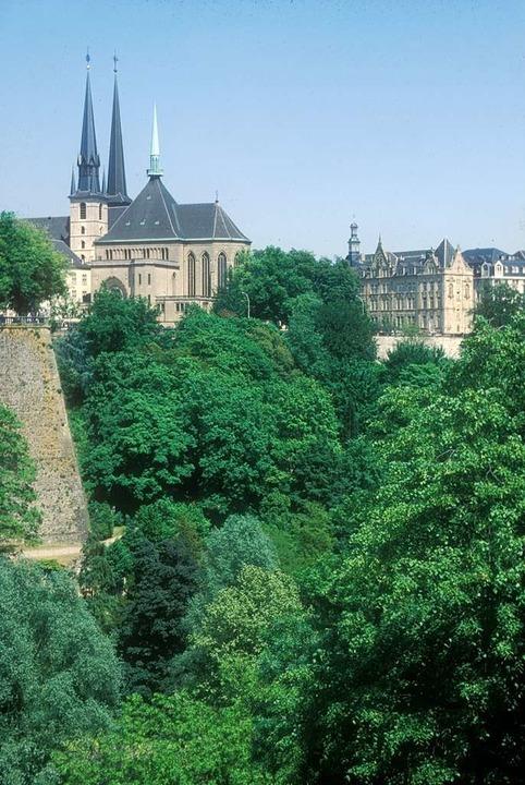 Die Kathedrale von Luxemburg.  | Foto: O.N.T. Luxemburg