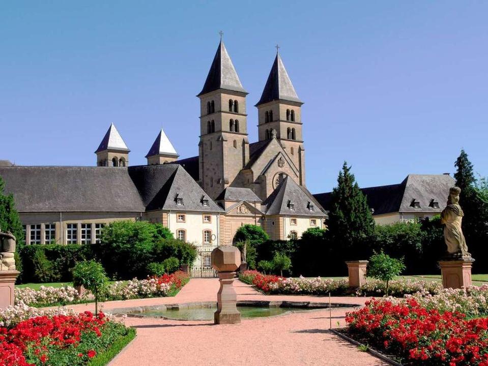 Die Willibrordus-Basilika in Echternac...en religiösen Denkmälern in Luxemburg.  | Foto: O.N.T. Luxemburg
