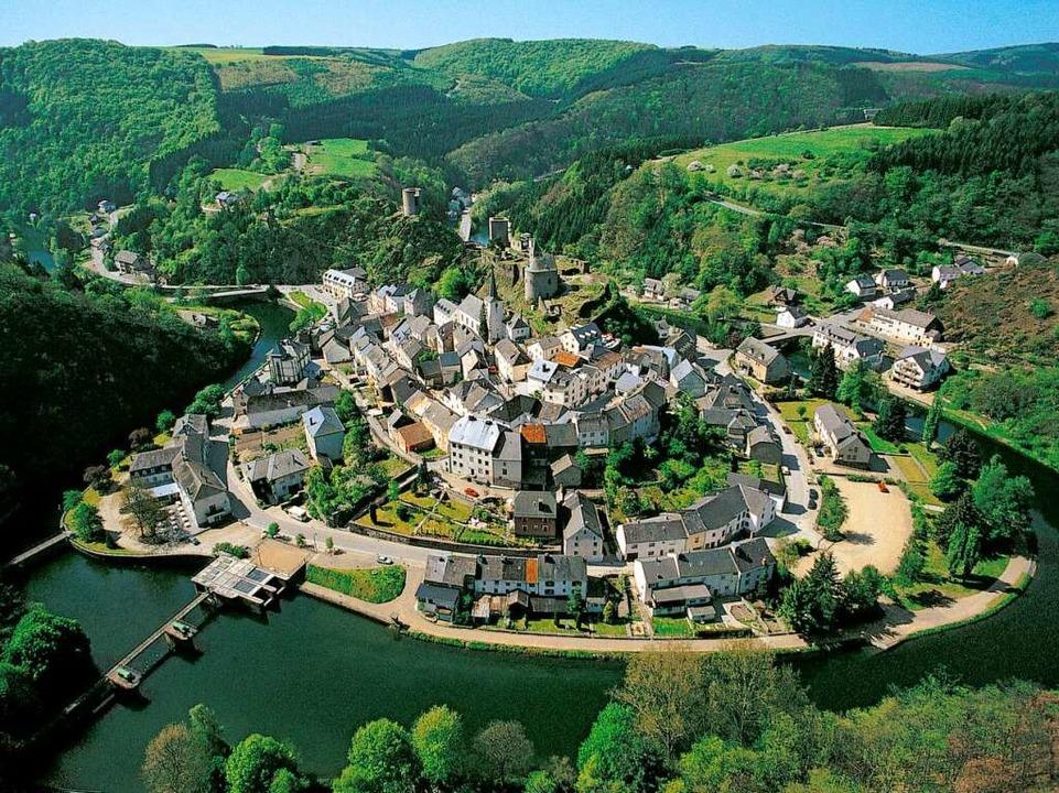 Malerisches Ardennenstädtchen: Esch-sur-Sure.  | Foto: O.N.T. Luxemburg