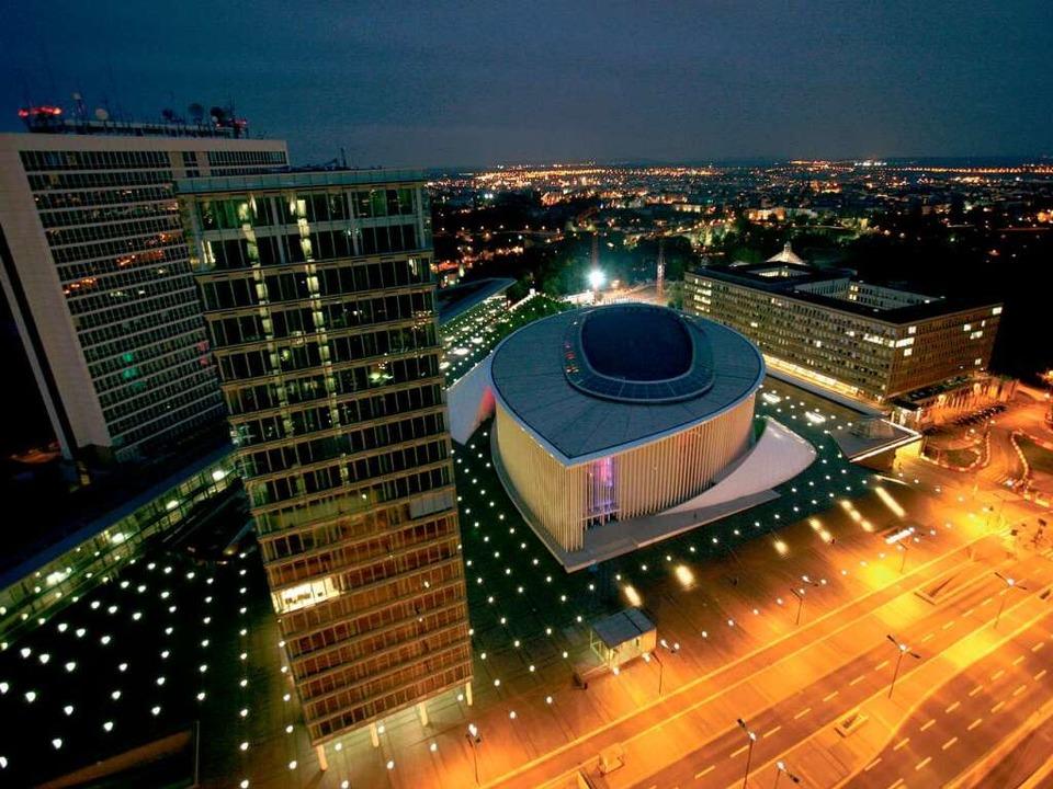 Die Philharmonie des Franzosen Christi...es Architektur-Highlight in Luxemburg.    Foto: O.N.T. Luxemburg