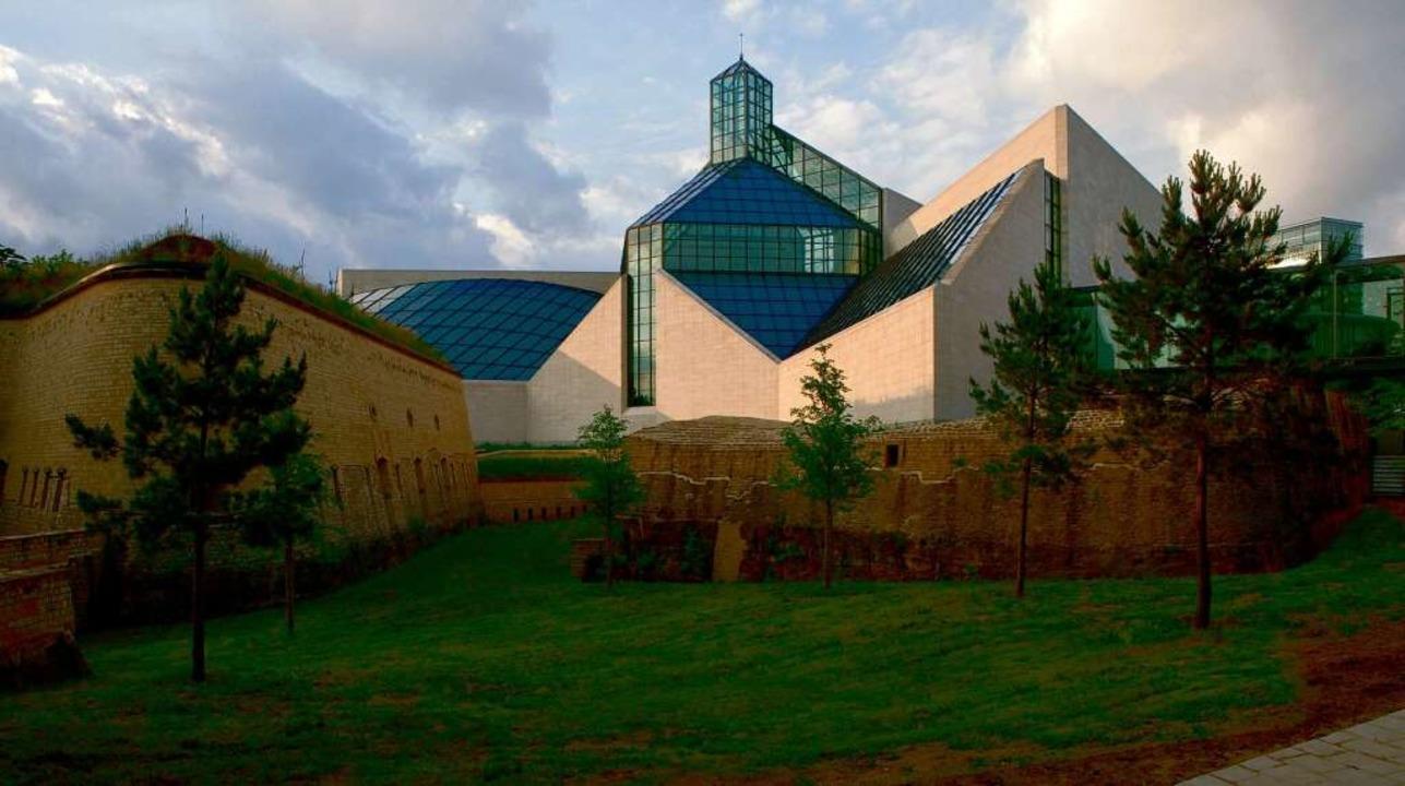 Die lichtdurchflutete Architektur des Museums für neue Kunst (Mudam) begeistert.    Foto: O.N.T. Luxemburg