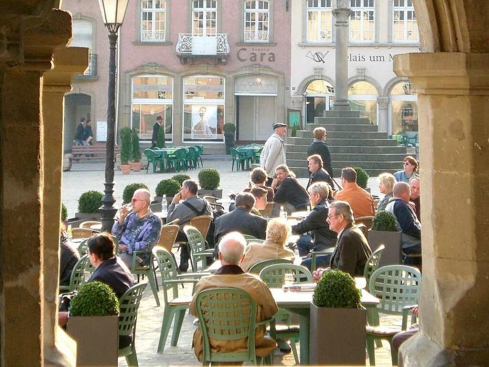 Luxemburger genießen das Leben –...warmen Jahreszeit am liebsten draußen.  | Foto: O.N.T. Luxemburg