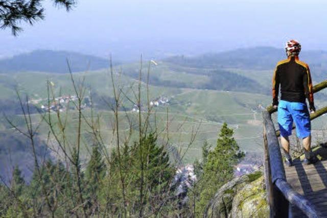 Der Felsenweg bei Kappelrodeck