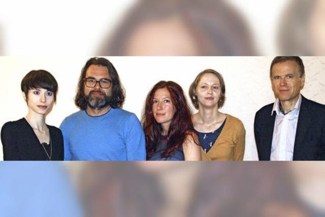 Vier Autoren, vier literarische Welten