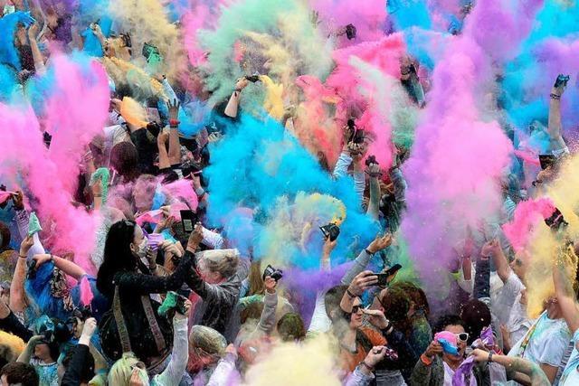 Holi-Festival zieht von Wehr nach Fahrnau