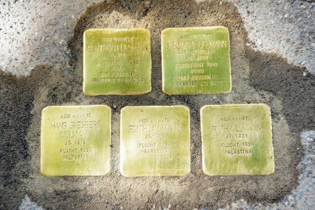 19 weitere Stolpersteine werden in Lahr verlegt