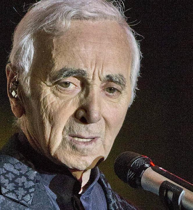 Charles Aznavour 2013 in Tel Aviv  | Foto: AFP