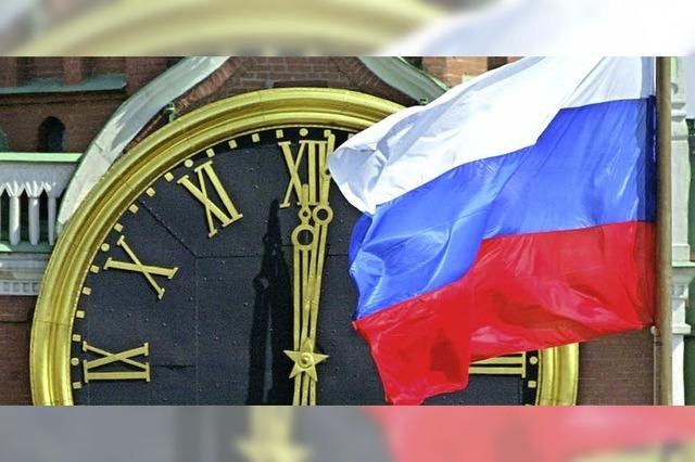 Russische Finanzinstitute sitzen auf dickem Polster
