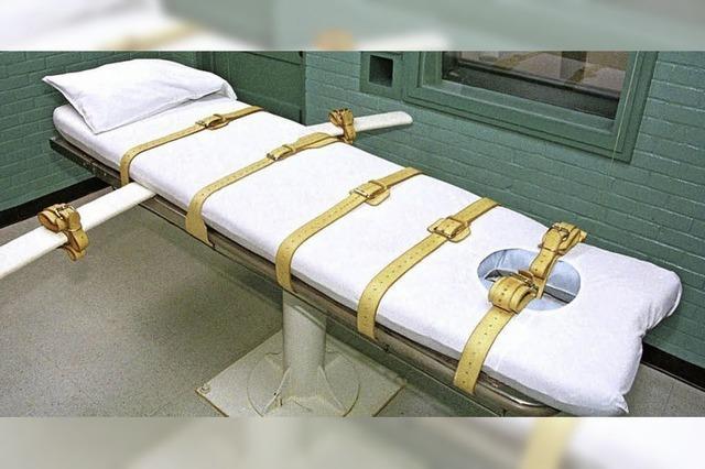 Exekution in Missouri aufgeschoben dank US-Gericht