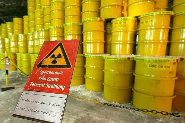 Neue Suche nach einem Atomendlager startet