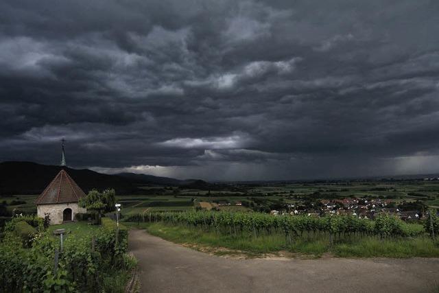 Experten warnen vor Sturmböen und Starkregen