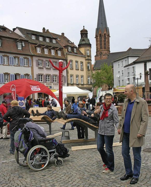 Wohlfühltag Emmendingen    Foto: Gerda Oswald