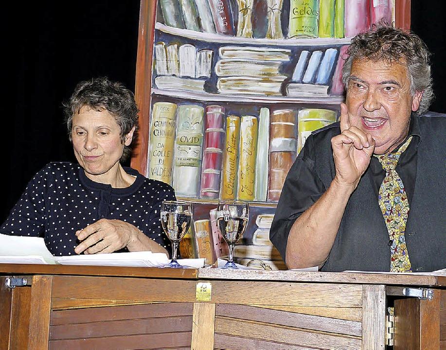 Gisela Straehle und Klaus Spürkel nahmen sich den Geschlechtern an.   | Foto: Hülter-Hassler