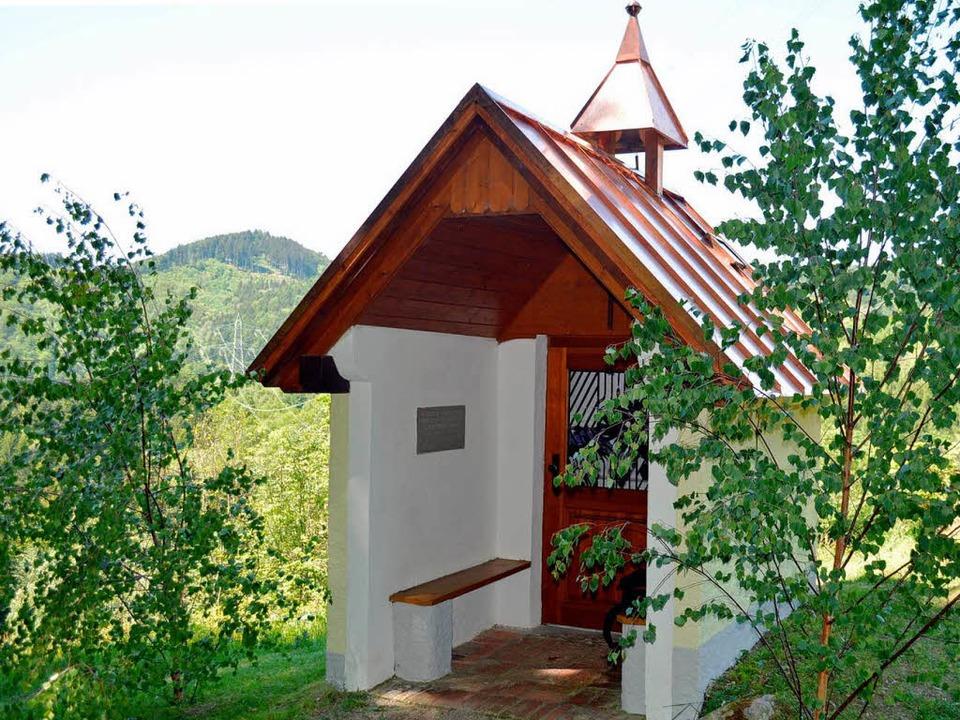 Die Schlangenkapelle nach der Renovierung.  | Foto: Gerd Lück