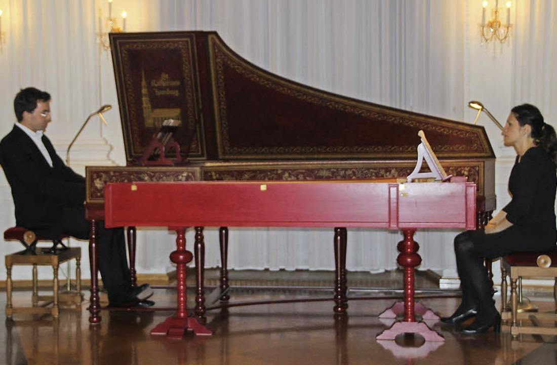 Aleksandra und Alexander Grychtolik in...ch - Söhne und eigene Improvisationen.  | Foto: Margrit Matyscak