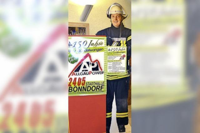 Feuerwehr Gündelwangen feiert Jubiläum