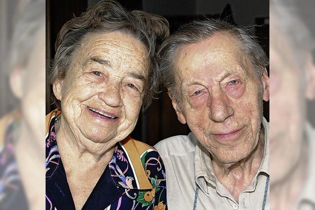 70 gemeinsame Ehejahre