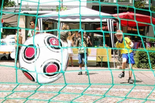 Innenstadt als Fußballmeile