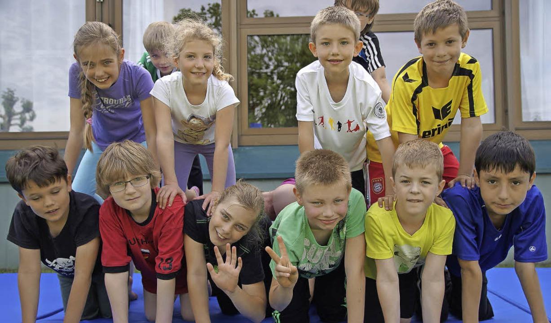 Die Schüler fiebern ihren Auftritten in der Kirchberghalle entgegen.    Foto: Susanne Ehmann