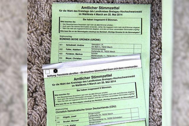 50 000 falsche Stimmzettel eingestampft