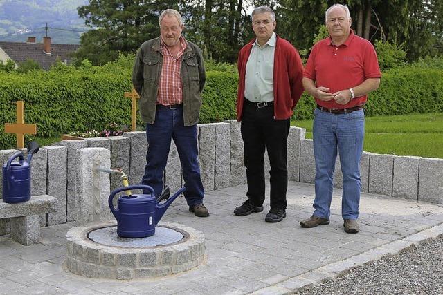 Barrierefreie Wasserstelle