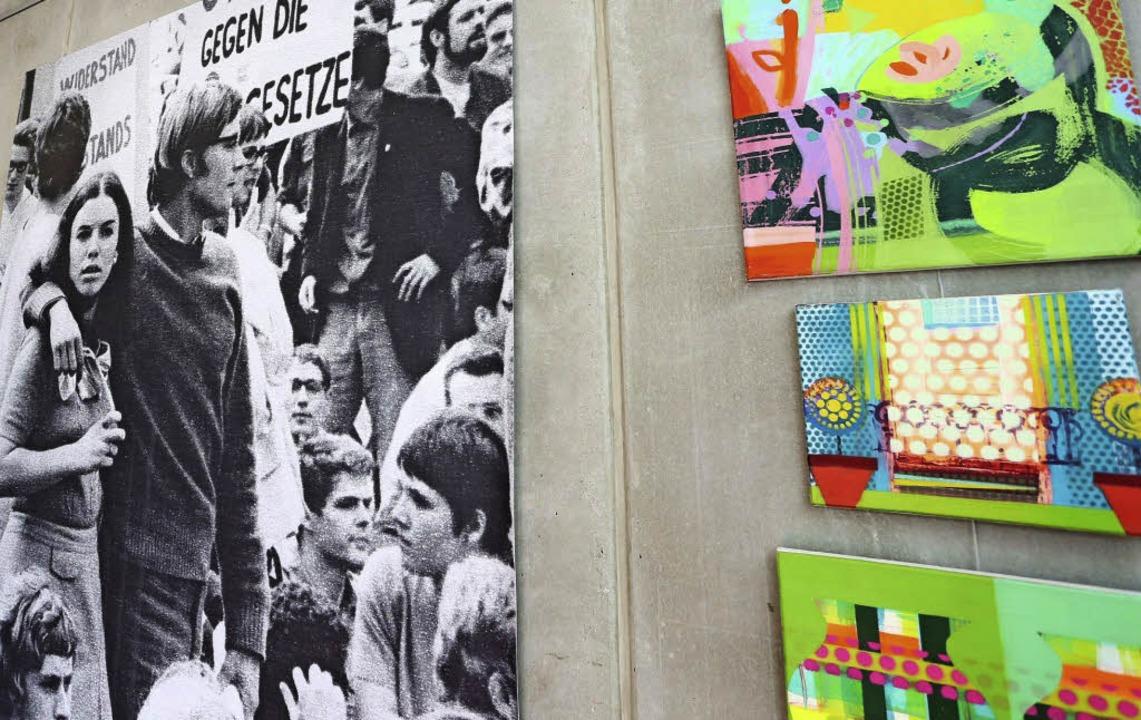 Jutta Spinner Ausstellung bei Uli Marx  | Foto: Bild honorarfrei