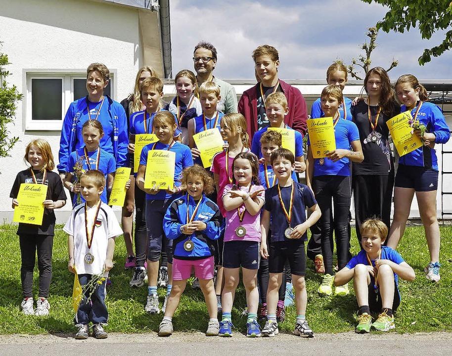 Spaß hatten die Langenauer Triathleten...ich bei ihren Vereinsmeisterschaften.     Foto: zvg