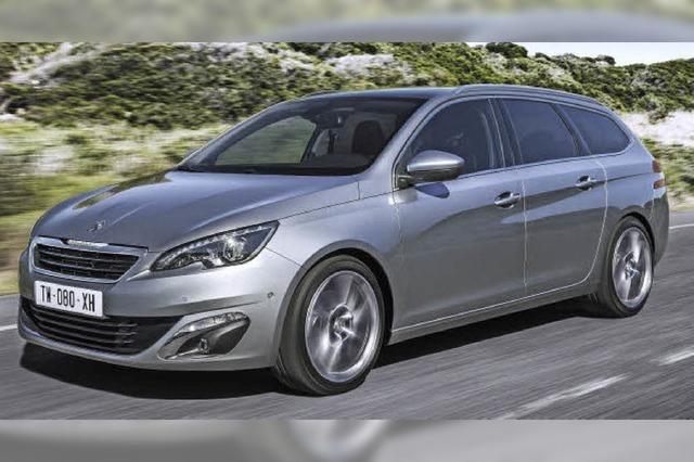 Peugeot macht Platz