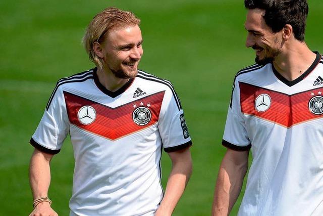 Deutschlands WM-Fußballer fühlen sich in Südtirol wohl