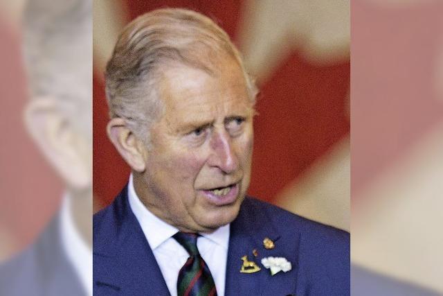 Prinz Charles verärgert Russland