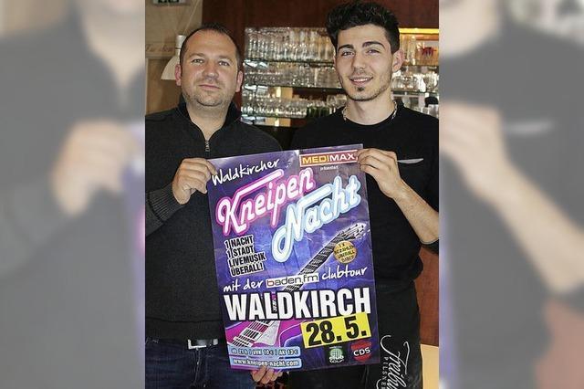 Waldkircher Kneipen-Nacht in 13 Lokalen