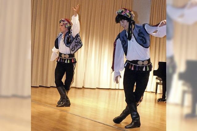 Flamencotanz bringt Aula des Gymnasiums zum Beben