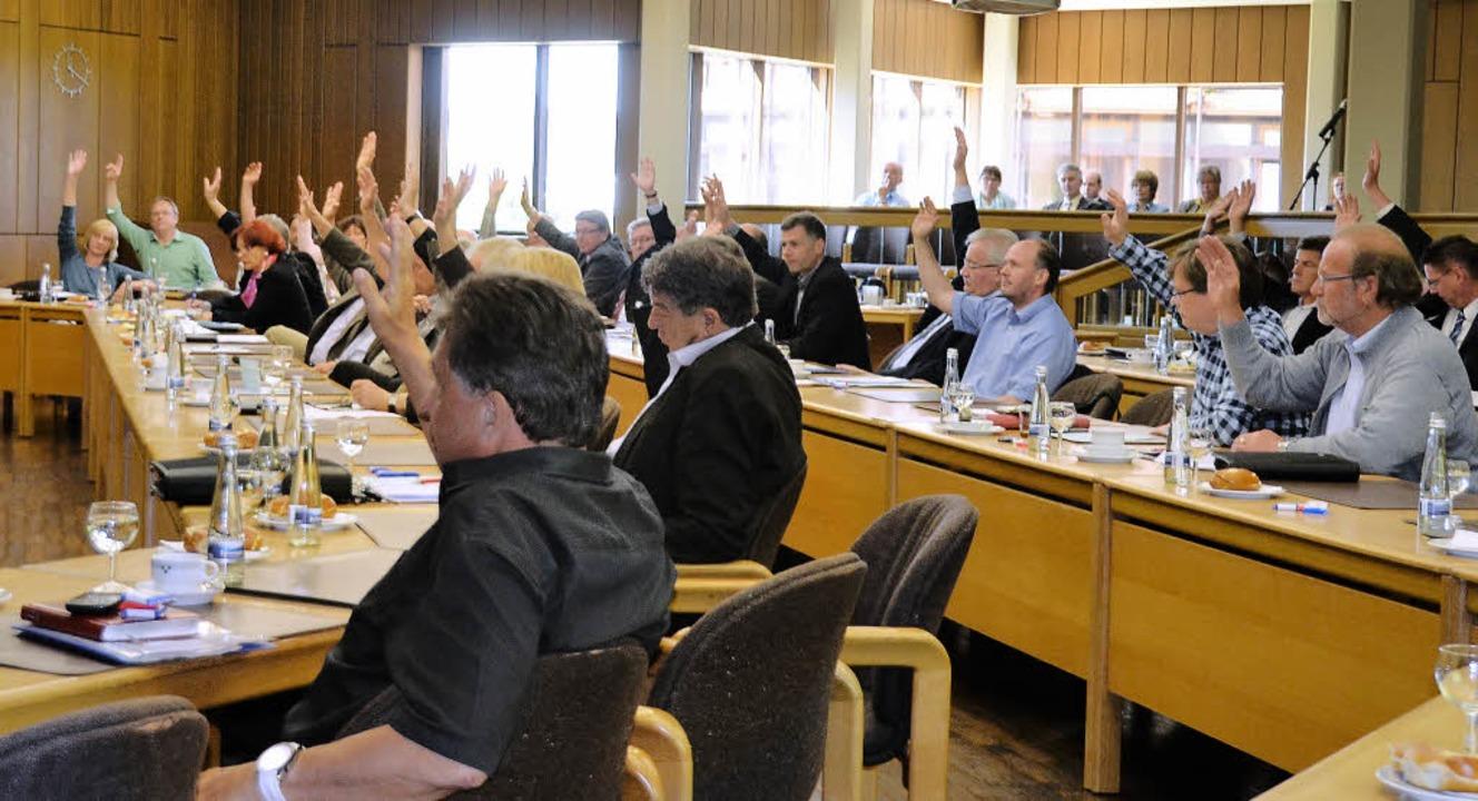 Einstimmig entschied der Kreistag von ...eim vorgesehenen Wahltermin zu bleiben  | Foto: Verena Pichler