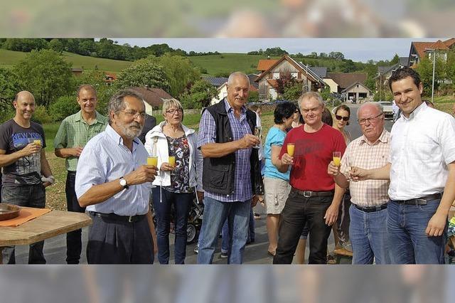 Ortsteil Obermettingen hat allen Grund zur Freude