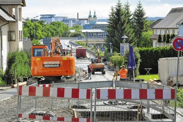 Baustellenfrust in der Innenstadt - Fürstenbergstraße bleibt noch lange gesperrt