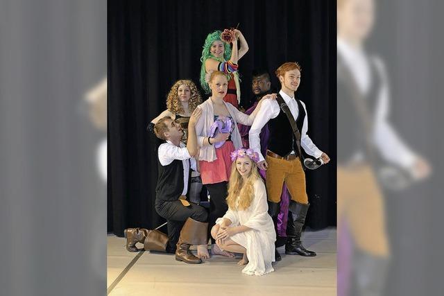 """Shakespeare: Freiburger Musical- und Schauspielschule präsentiert """"Sommernachtsphantasien"""""""