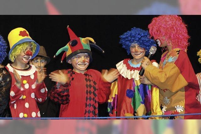 Clowns, Fakire und mutige Artisten
