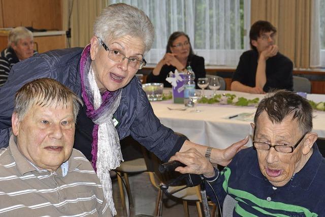 Fest zu Ehren langjähriger Bewohner