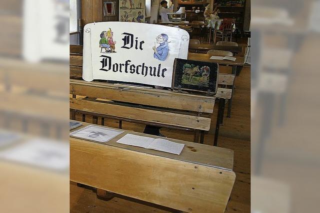 Heimatmuseum wird Schulhaus