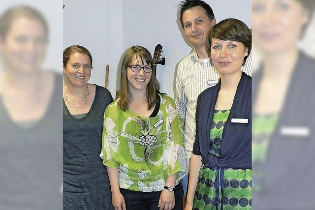 Musiktherapie mit neuen Räumen und Instrumenten