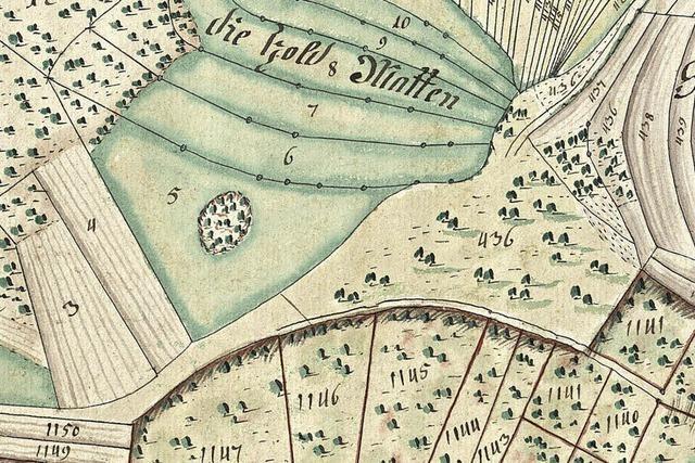 Harpolingen besaß den ersten Grundstücksplan