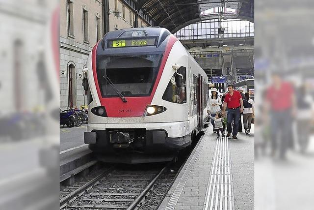 Durchgehende S-Bahn zieht sich hin