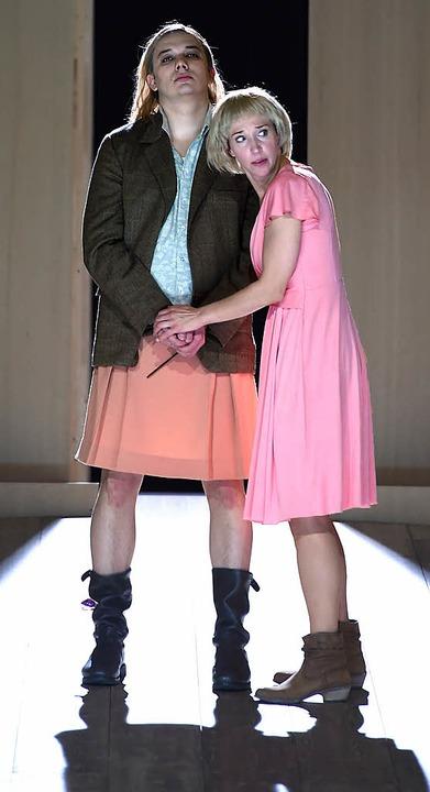 Oper Leucippo, Schwetzingen. Mit Vasily Khoroshev/Franziska Gottwald  | Foto: Hans Jörg Michel