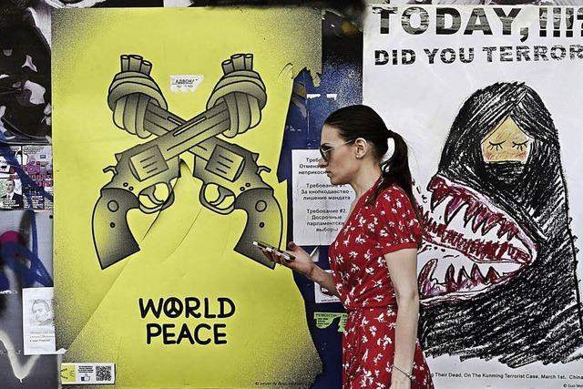 Vor den Wahlen wünschen sich Ukrainer Frieden