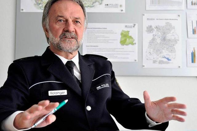 Freiburgs Polizeipräsident Rotzinger über junge Flüchtlinge, die Polizei und den Rechtsstaat