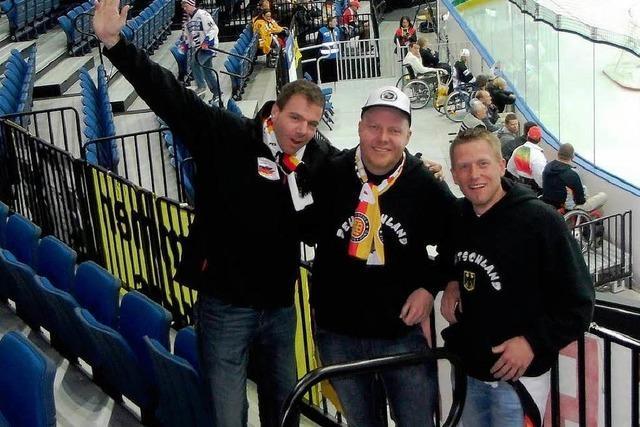 Zwei Elztäler besuchen Eishockey-WM in Weißrussland