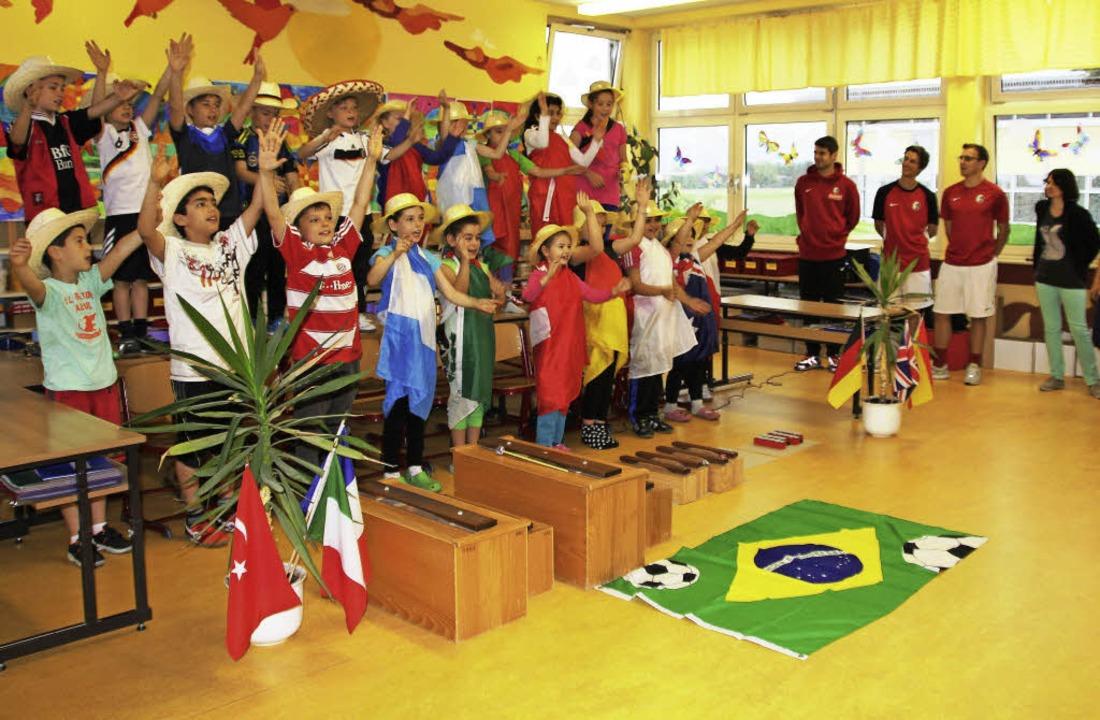 Fußball und Brasilien – das pass...wechslungsreichen Workshop teilnehmen.  | Foto: sabine model